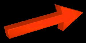 fleche 3D rouge 2